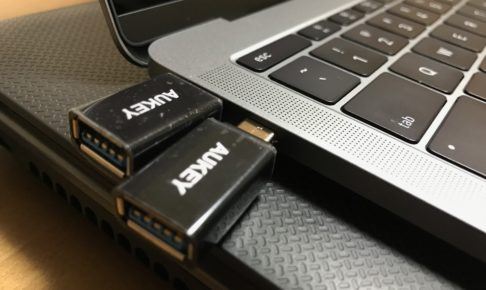 AUKEY USB Type C変換アダブタ2個セット