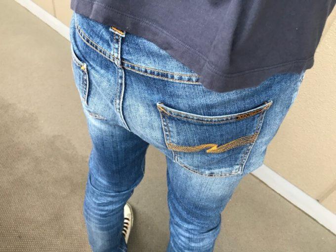 ヌーディージーンズ リーンディーン nudie jeans lean dean