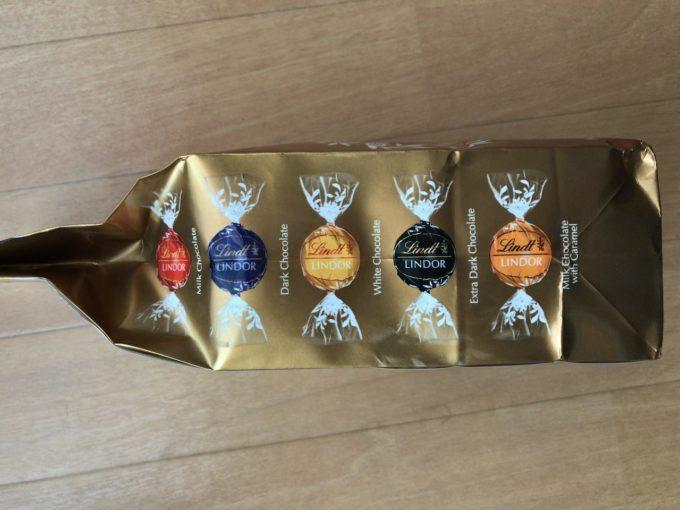 コストコのリンドール 5種類の味