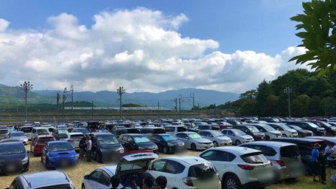 関ケ原唄姫合戦 駐車場