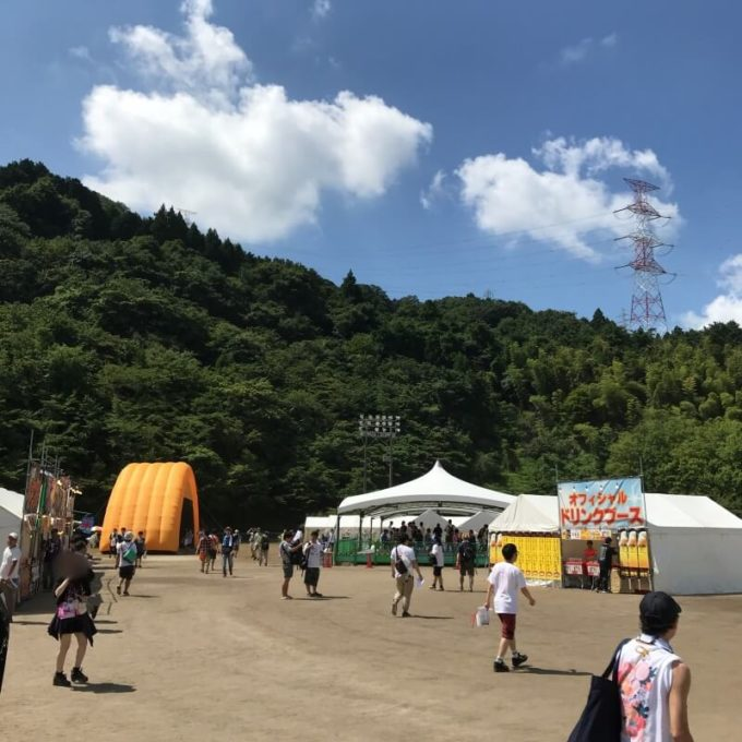 関ケ原唄姫合戦 会場の様子