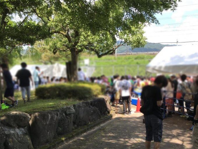 関ケ原唄姫合戦 入場