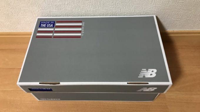ニューバランスの福袋に入っていたUSA製モデルのM997DT2