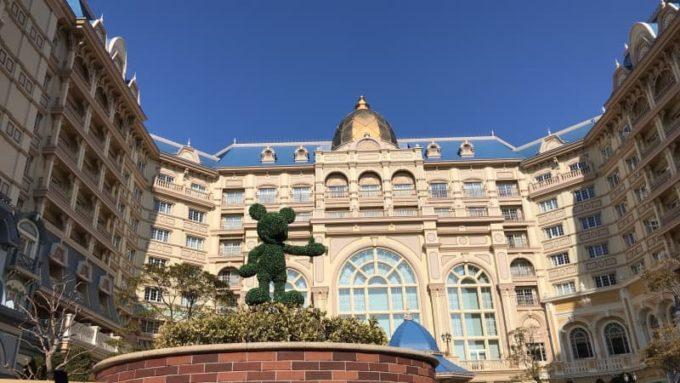 東京ディズニーランドホテルの外観