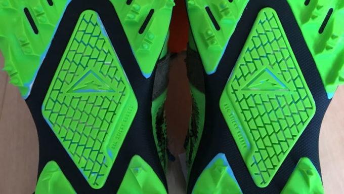 Off White Nike Zoom Terra Kiger 5 (オフホワイト ナイキ ズーム テラカイガー5)の写真 ボトムビュー