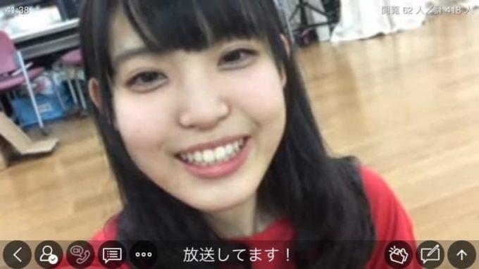 真野彩里愛 FES☆TIVE(フェスティブ)加入時のツイキャス