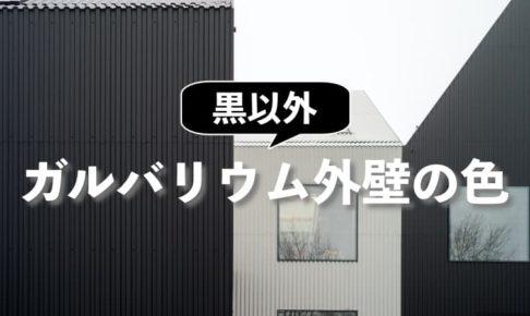 黒以外ないの?ガルバリウム鋼板の外壁におすすめの色は白とグレー