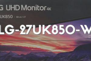 LG 27UK850-W レビュー│MacBookと相性抜群でおすすめなモニターディスプレイ