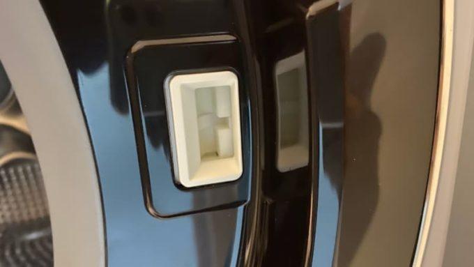 日立のビッグドラム洗濯機 ドアの爪がズレて閉まらない