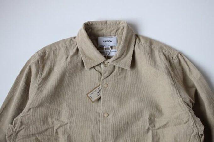 CORNER'S ARKの福袋の中身 YAECAのシャツ