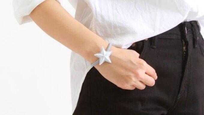 siestea peau(シエスタポー) スターコンチョ ヘアゴムをブレスレットとして使用