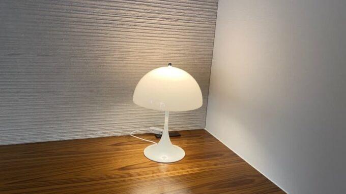 ルイスポールセンのパンテラミニテーブル(Panthella Mini Table)